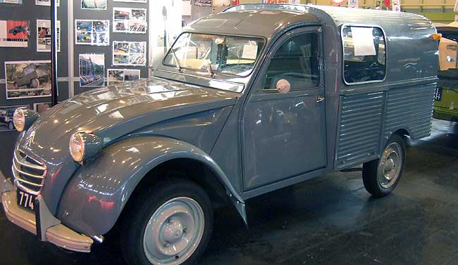 AK350 van at the Classic Car Show, NEC
